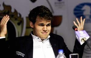 Magnus Carlsen blir världsmästare