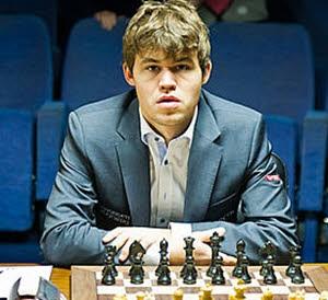 Magnus Carlsen som ung